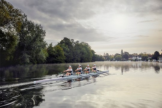 Photographing rowers with Canon trinity RF lenses