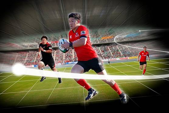 Capturing game-changing video at Rugby World Cup™