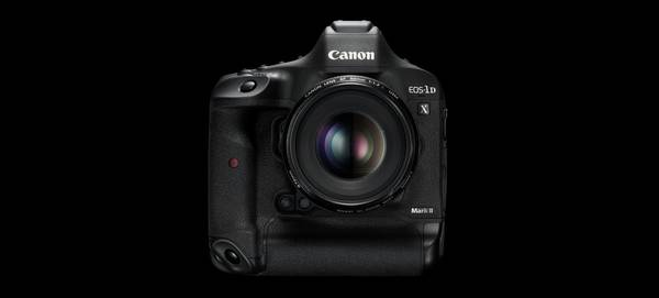 The Canon EOS-1D X Mark II.