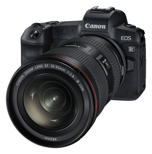 A Canon EOS R with Canon EF 16-35mm f/2.8L III USM lens.