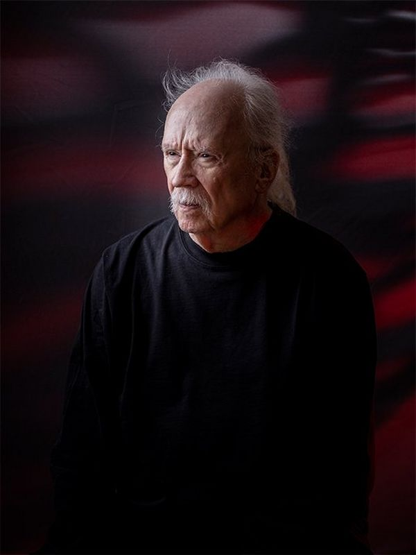 Director John Carpenter photographed at Cannes Film Festival by Paolo Verzone using a Canon EOS R.