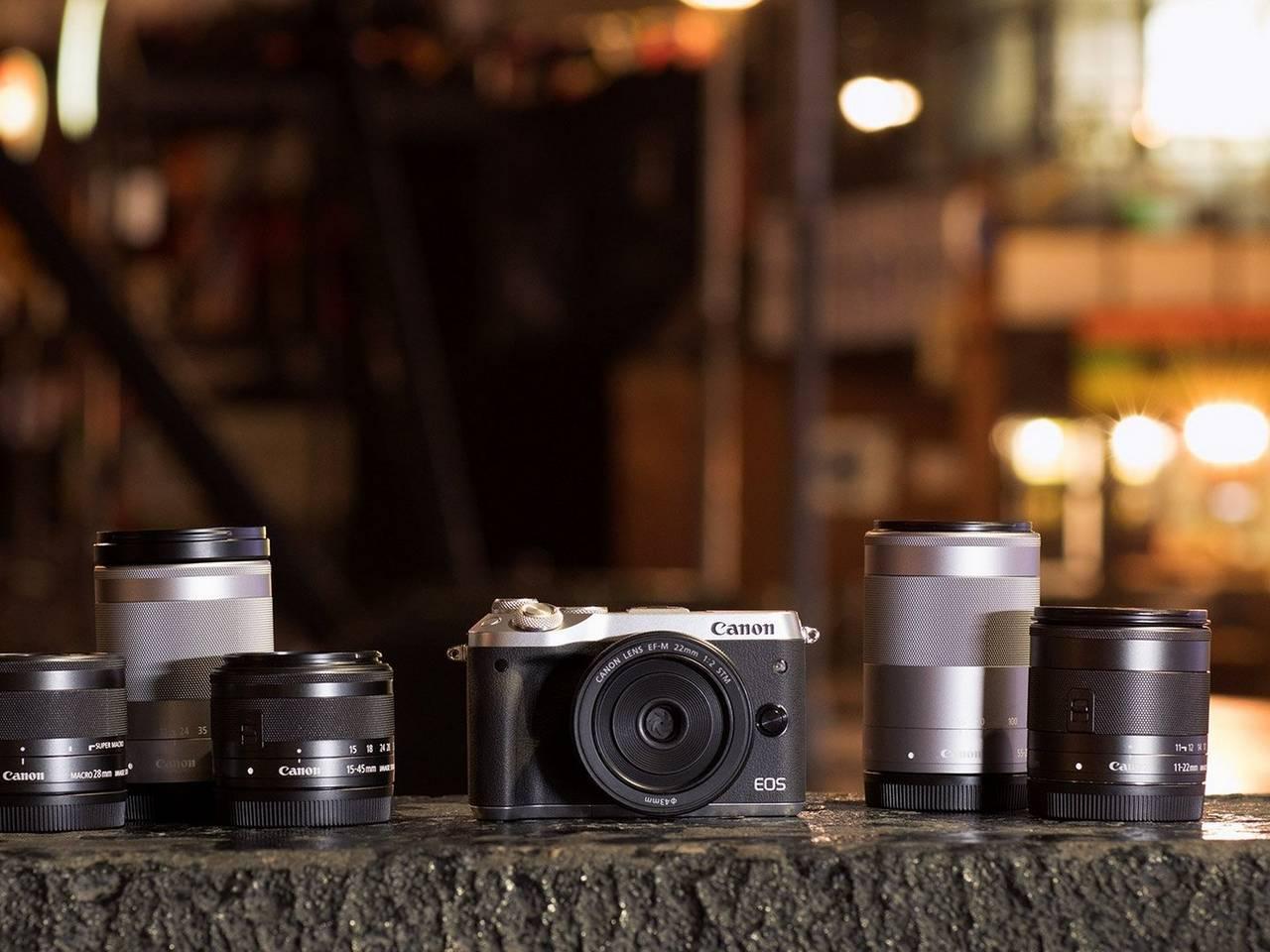 Canon EOS M6 Embrace EOS