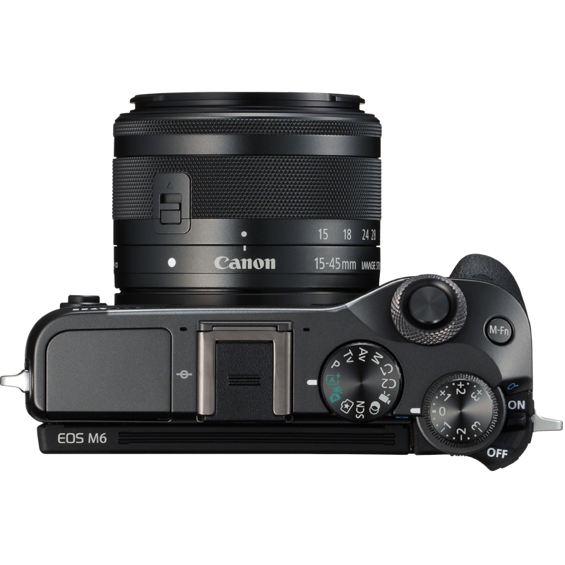 Canon EOS M6 top specifications