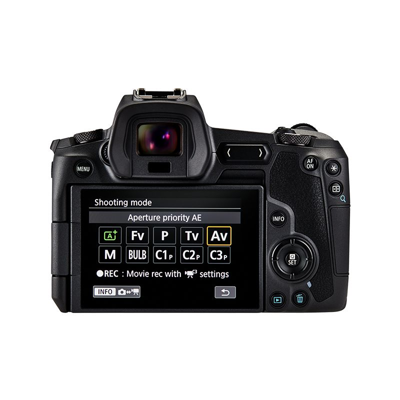 EOS R Display