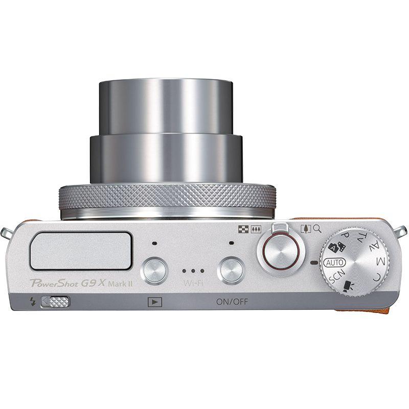 PowerShot G9-X Mark II Top lens Out