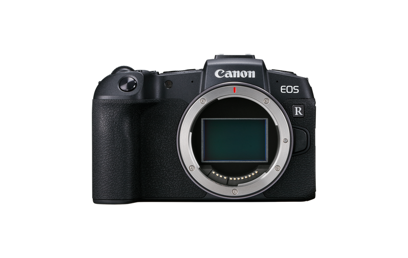 Canon EOS RP specification camera front view