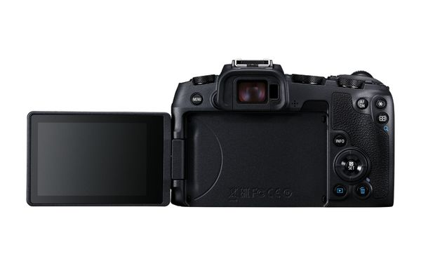Canon EOS RP flip screen view