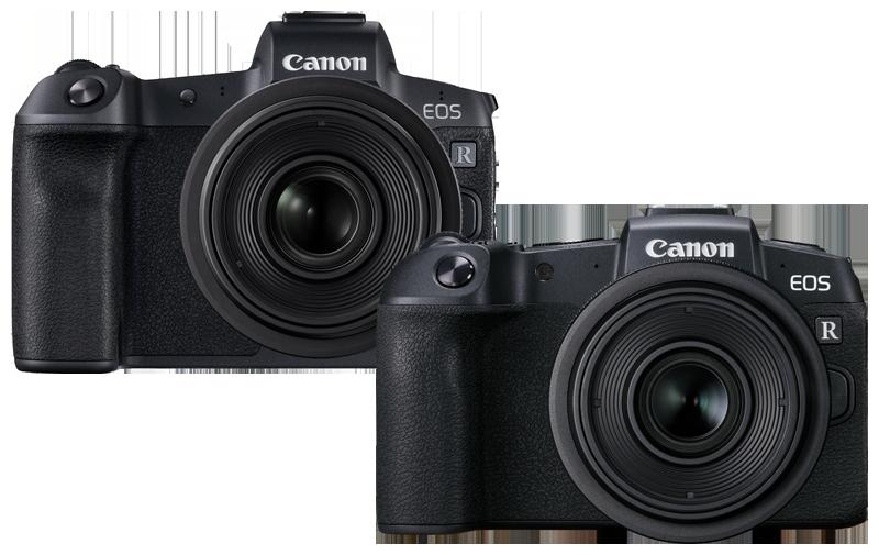 Canon EOS R and Canon EOS RP