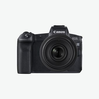 Canon EOS R camera front shot