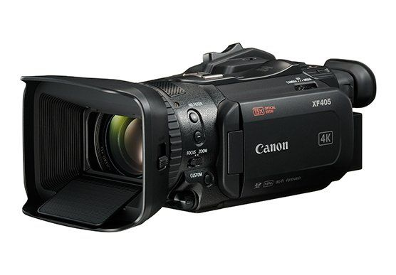 Highlights of the XF405 compact pro 4K camcorder