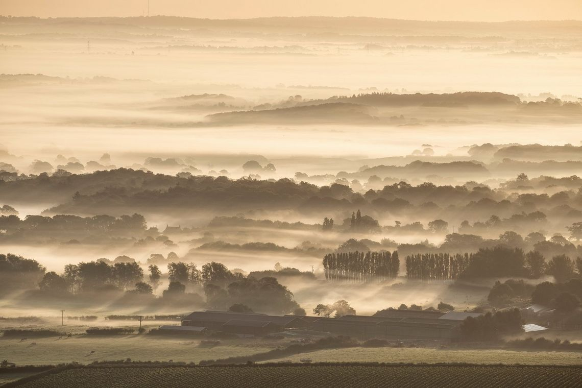 Landscape photographer David Clapp captured the sun rising over the South Downs, East Sussex, on the new Canon EOS 6D Mark II.