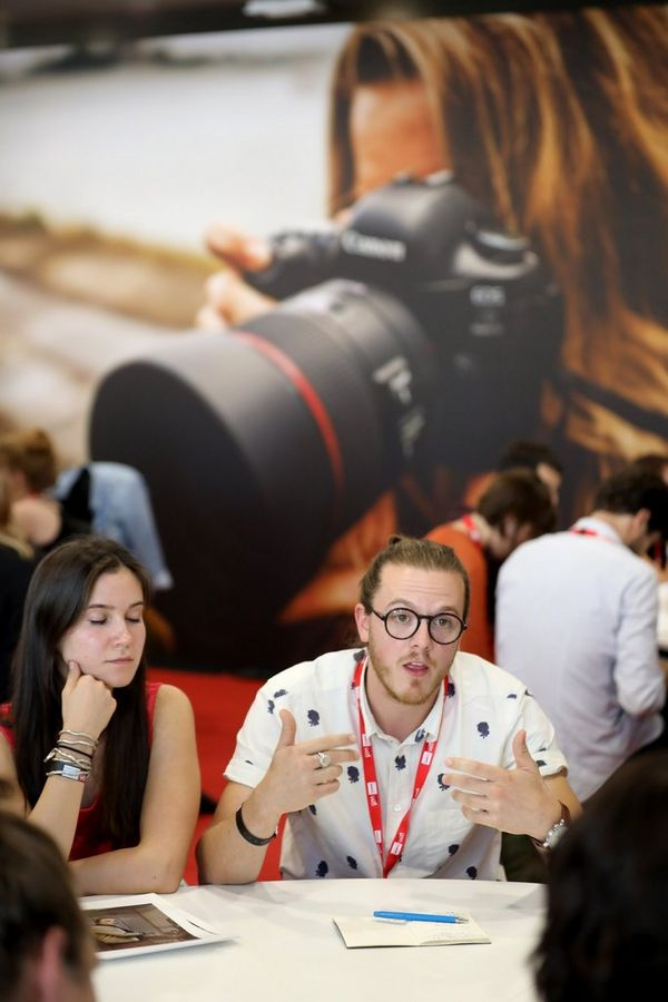 Talks, workshops and portfolio reviews aimed to nurture promising young talent in photojournalism.