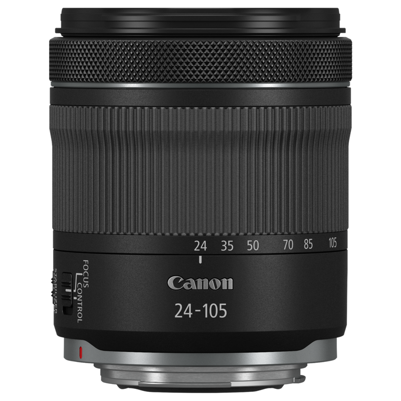 Canon RF 24-105mm F4-7.1 IS STM FRT pack shot