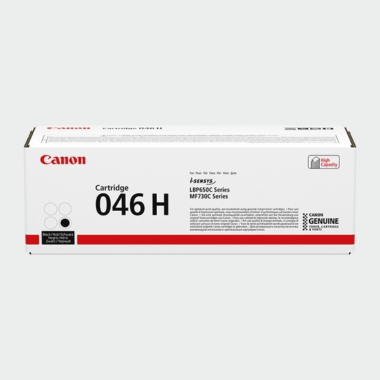 Consumables - Cartridge 046 H Black
