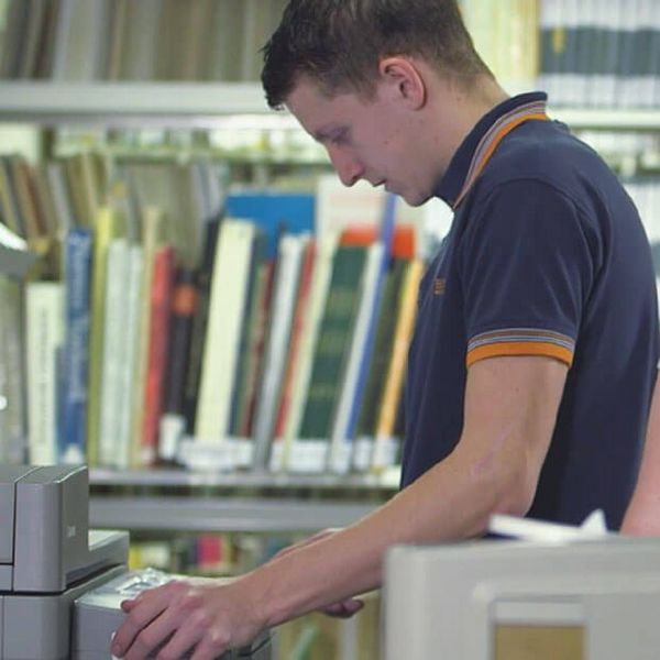 Canon now handles the colleges device, fleet and consumables management