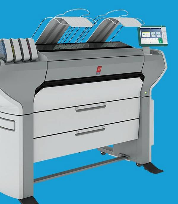 A fast and flexible colour printer, the Océ ColorWave 700 is ideal for wide format graphic arts applications.