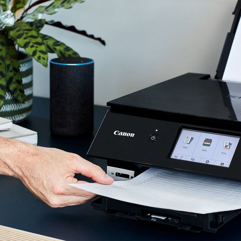 Printing via voice on the Canon PIXMA TS8250 using Amazon Alexa