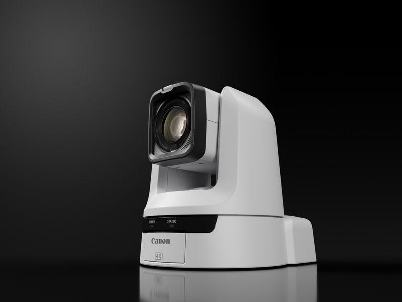 La caméra PTZ (Panoramique/Inclinaison/Zoom) Canon CR-N300.