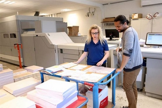 Business is booming for Digital Book Printing