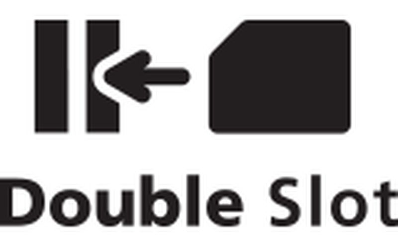 Double slot icon
