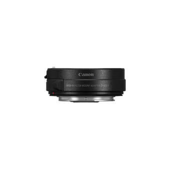 Canon EOS R mount adapter with drop in filter