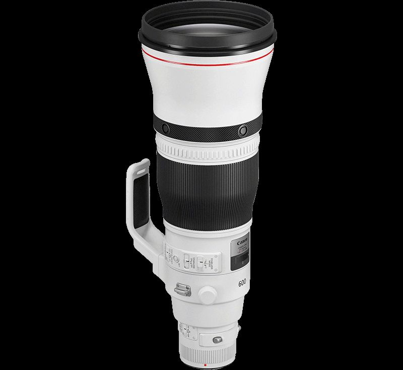 Canon EF 600mm f/4L IS III front on