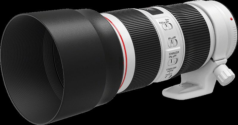 EF 70-200mm f/4L IS II USM FSL with hood
