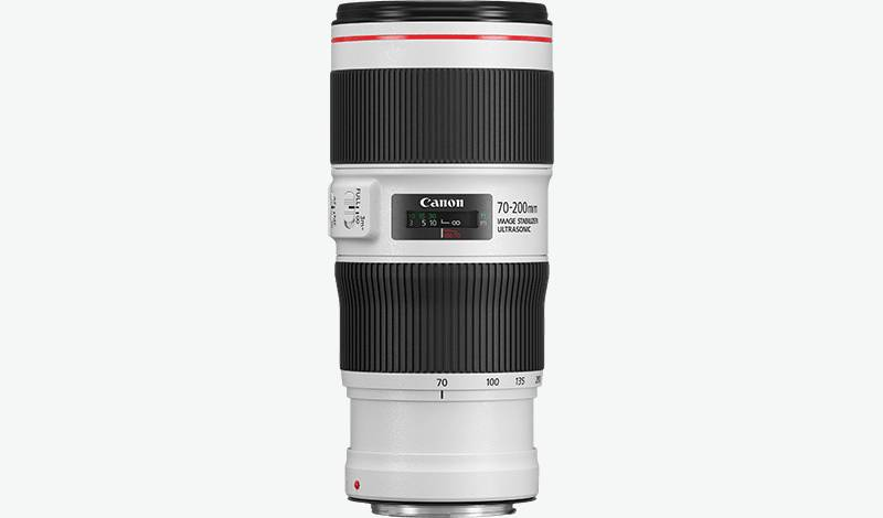 EF 70-200mm f/4L IS II USM side