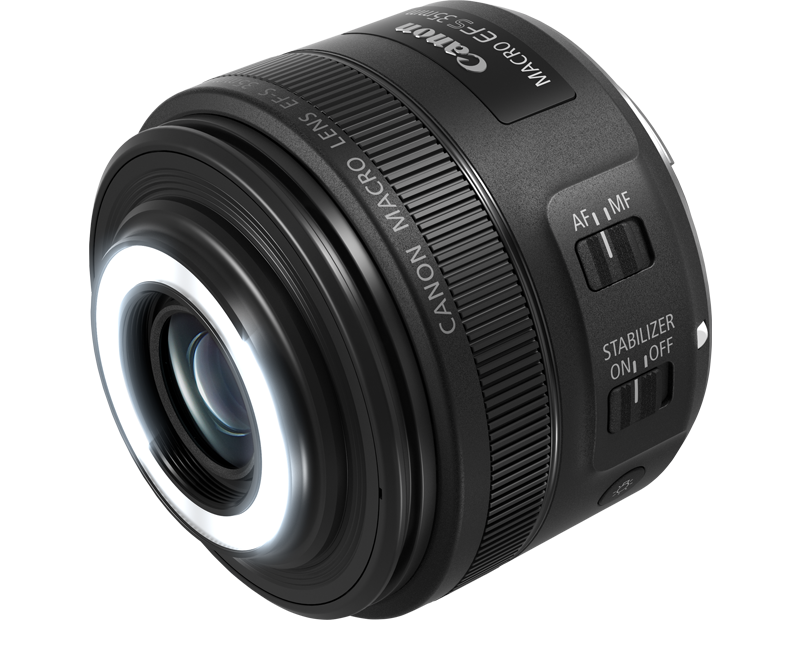 EF-S 35mm f/2.8 Macro IS STM specifications side profile