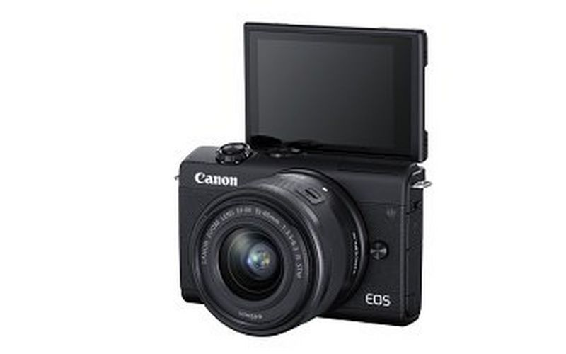 Simply incredible, incredibly simple: professional-looking photos are effortless with the Canon EOS M200