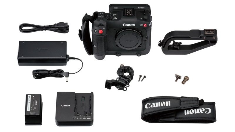 Canon EOS C70, Whats in the Box