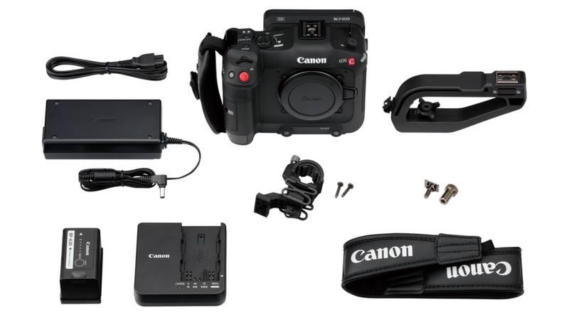 Canon EOS C70, комплект поставки