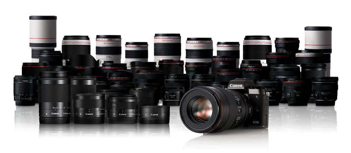 EOS M5 Lenses