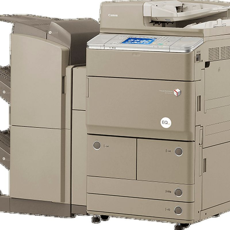EQ80 imageRUNNER ADVANCE 6065i Punch Front Angle