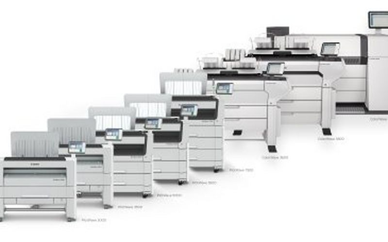 SECURE AND INTUITIVE. NEW END-TO-END LARGE FORMAT PRINTING SOLUTIONS.