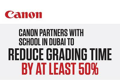Canon develops smart grading solution for Dubai school group