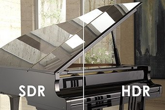 HDR / SDR comparison