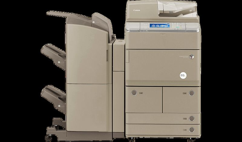 EQ80 imageRUNNER ADVANCE 6065i Top Front Angle