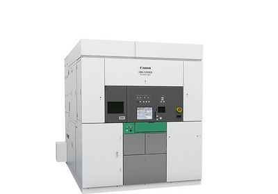 i-Line lithography stepper machine functions - Canon FPA-5510iX