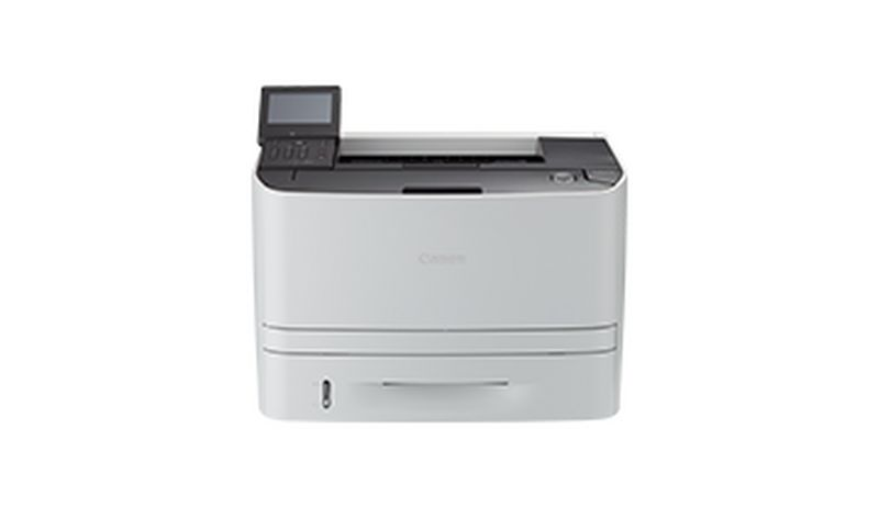 i-SENSYS LBP253x black and white printer with touchscreen
