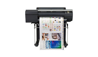 imagePROGRAF iPF6400S proofing - wide format printer