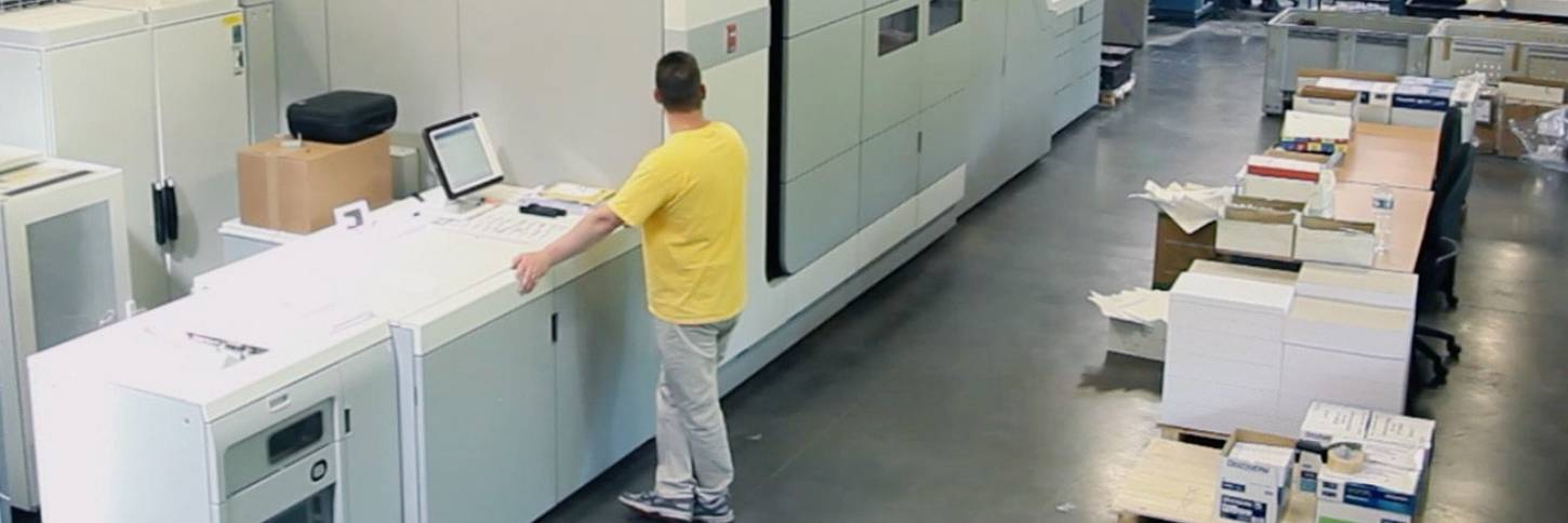 Océ VarioPrint i300 at Ingenidoc
