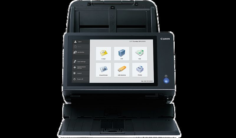 ImageFORMULA ScanFront400 desktop scanner