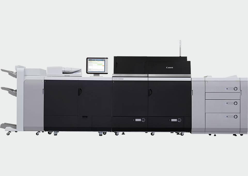Canon digital press