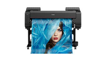 imagePROGRAF IPF PRO-4000 producing 12 colour images