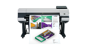 "imagePROGRAF iPF830 44"" colour plotter"