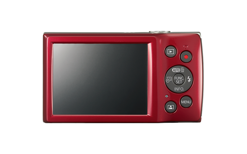 IXUS 185 red back
