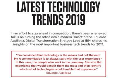 Latest technology trends of 2019