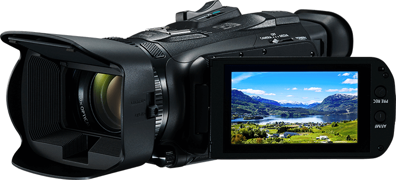 A Full HD camcorder in a compact and lightweight body