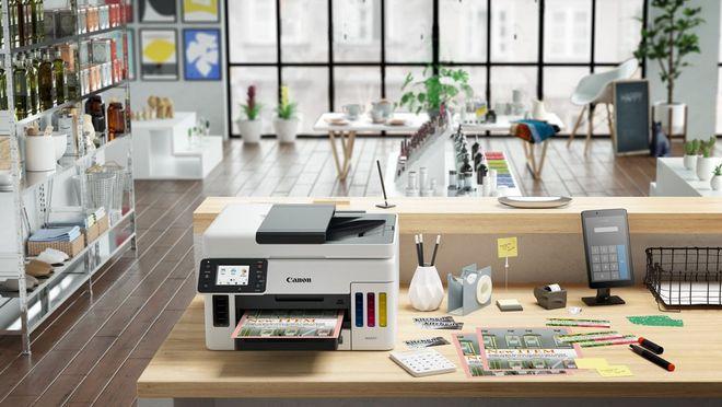 Imprimaţi fără efort facturi pentru magazin cu MAXIFY GX6050 şi MAXIFY GX7050